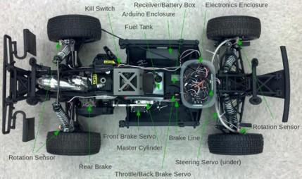 original AutoRally chassis